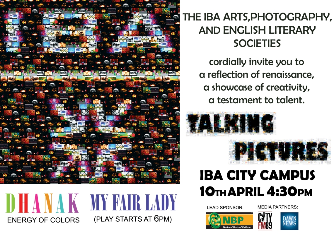 Talking Pictures Official Invitation