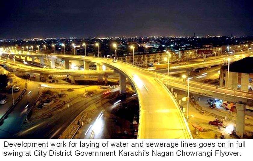 Nagan Chowrangi Flyover
