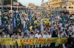 10 - October-Protest against Kerry-Lugar bill