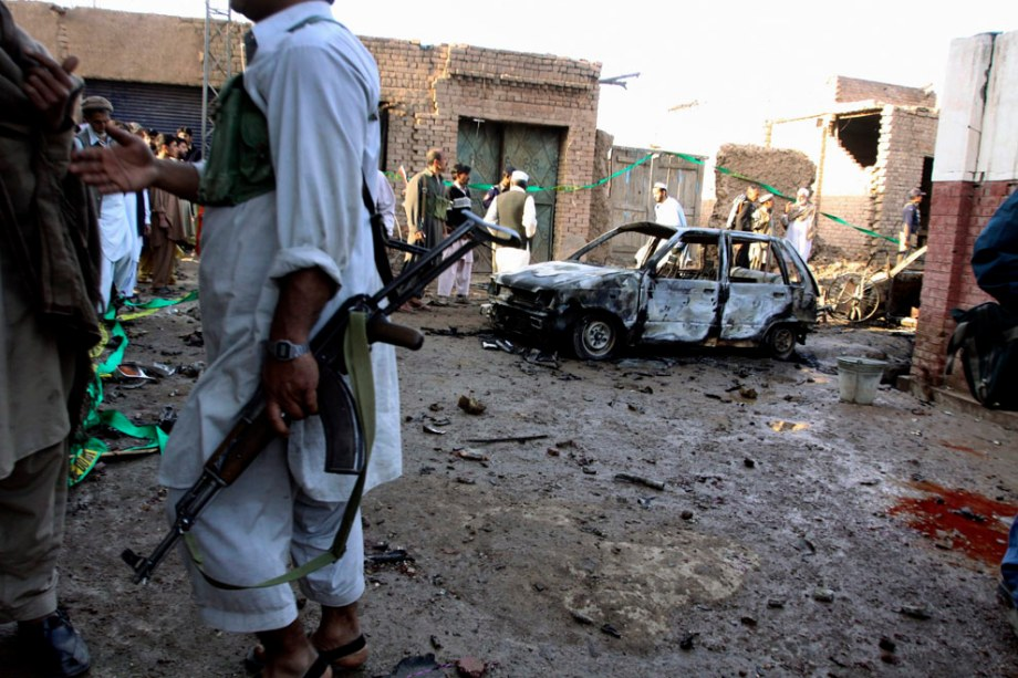 2 - February-Peshawar-A car bomb exploded near the residence of a local government official, killing six people and wounding 12 others-Mohammad Sajjad, AP