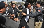 3 - March-Long March-Lawyers clash with police-Rahat Dar