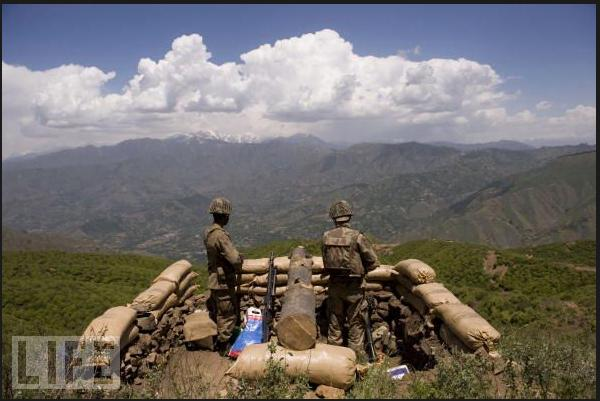 5 - May-Ziarat-Pak Army soldiers stand guard-Getty