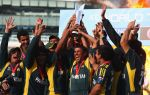 6 - June-YounisKhan lifts the World T20 trophy-Getty-Julian Herbert
