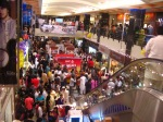 9 - Sep-The Forum,a shopping mall in Karachi,lit up for Eid