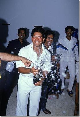 India v England, 2nd Test, Chennai, February, 1993
